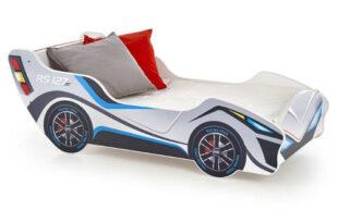 Chlapci posteľ pretekárske auto