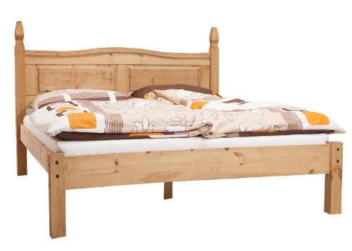Dvojlôžková pevná manželská posteľ 180×200 vzhľad dediny