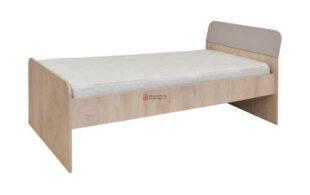 Jednolôžková posteľ v klasickom dizajnovom dekore dub/piesok