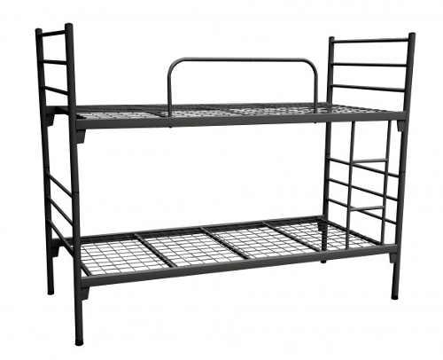 Lacná kovová poschodová posteľ