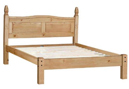 Manželská posteľ pre chatu
