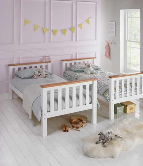 Poschodová posteľ rozložiteľná na 2 lôžka