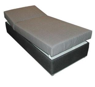 Rozkladacia posteľ s polohovaním hlavy a nôh