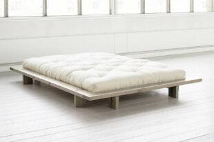 Trendy japonská postel Karup Japan Raw 160 x 200 cm